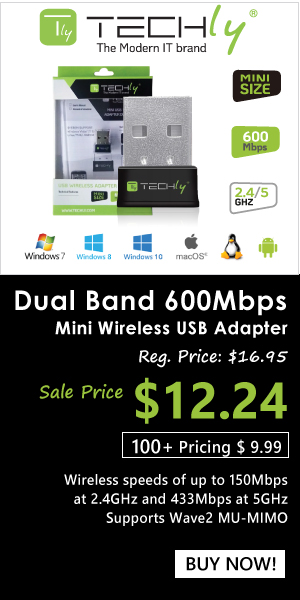 Dual Band 600Mbps