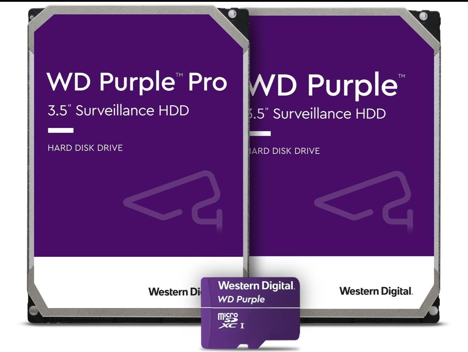WD Purple Surveillance Pro