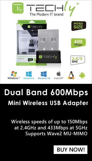 USB Dual Band 600 Mbps